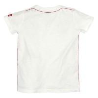 Vorschau: T-Shirt Platzhirsch weiß