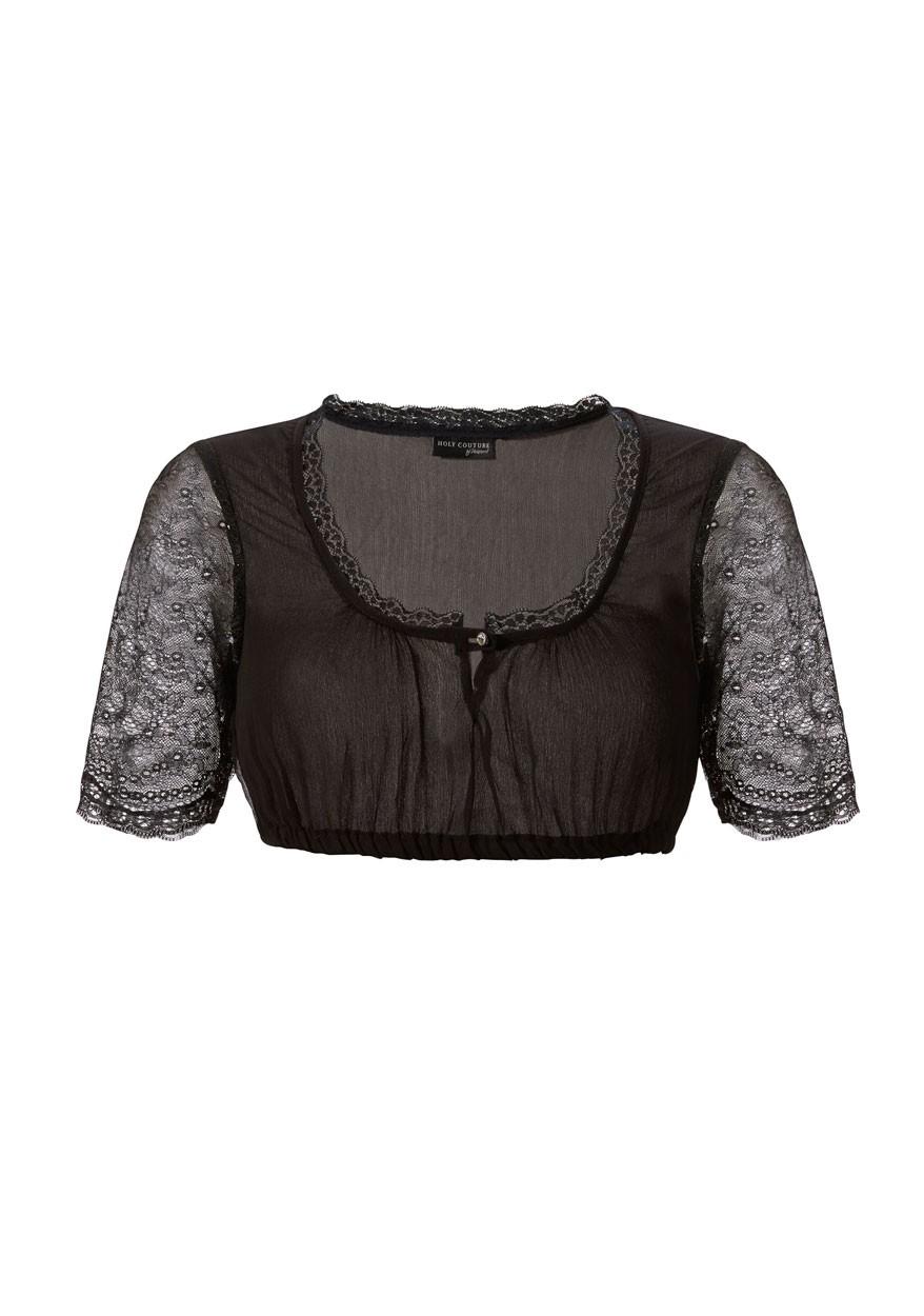 Bluzka Dirndl Kristin czarna