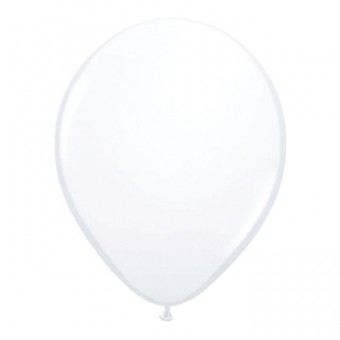 100 weiße Latexballons 30cm