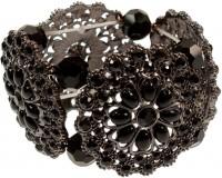 Vorschau: Trachtenarmband Silvia schwarz