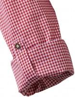 Vorschau: Olymp Hemd Trachtenhemd rot/weiss, Kariert
