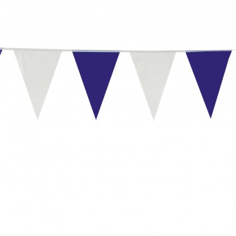 Wimpelkette Blau-Weiß 10m