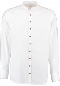 Trachtenhemd Maxl weiß