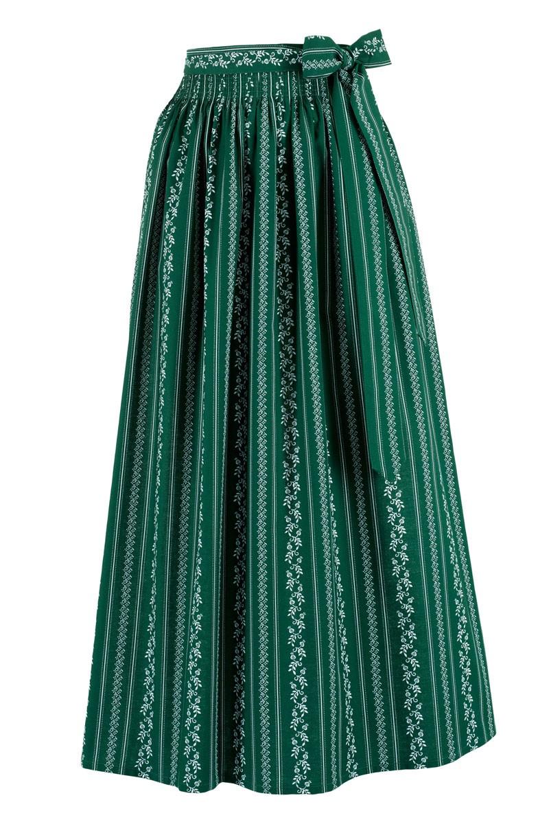 Fartuch Dirndl Anemon zielony