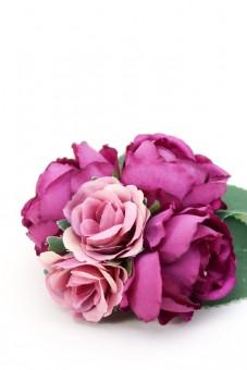 Ansteckblume Fenja lila