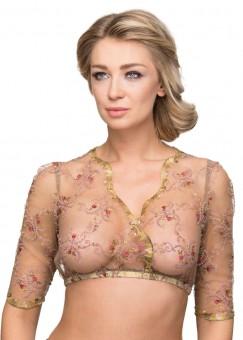 Bluzka Dirndl Carolin różowa