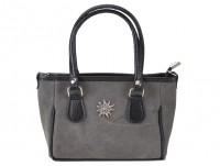 Mini Handtasche Edelweiß grau