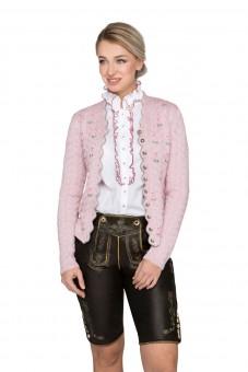 Trachtenstrickjacke Marlene rosé
