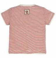 Vorschau: T-Shirt geringelt mit Knopfleiste