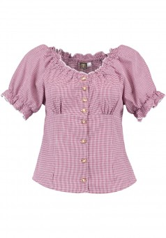 Ladies blouse Lini red