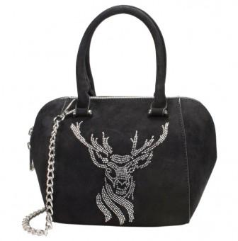 Trachten-Tasche Monja schwarz
