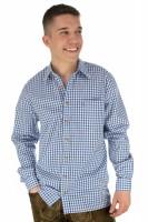 Vorschau: Trachtenhemd Bertl dunkelblau-kariert