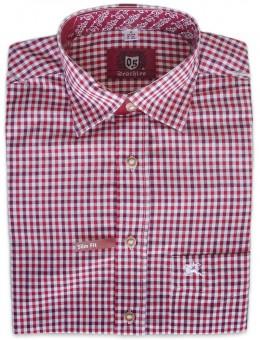 Trachtenhemd Klaas rot