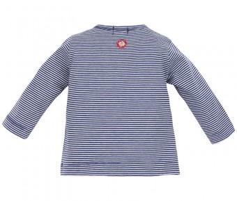 T-Shirt gestreift blau-weiß