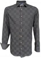 Trachtenhemd Taro dunkelgrau