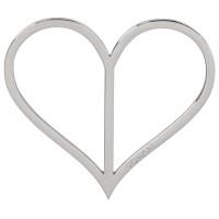 Vorschau: Dirndlspangerl Herz silber