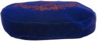 Vorschau: Trachten-Samttasche Hirsch & Eichenlaub blau