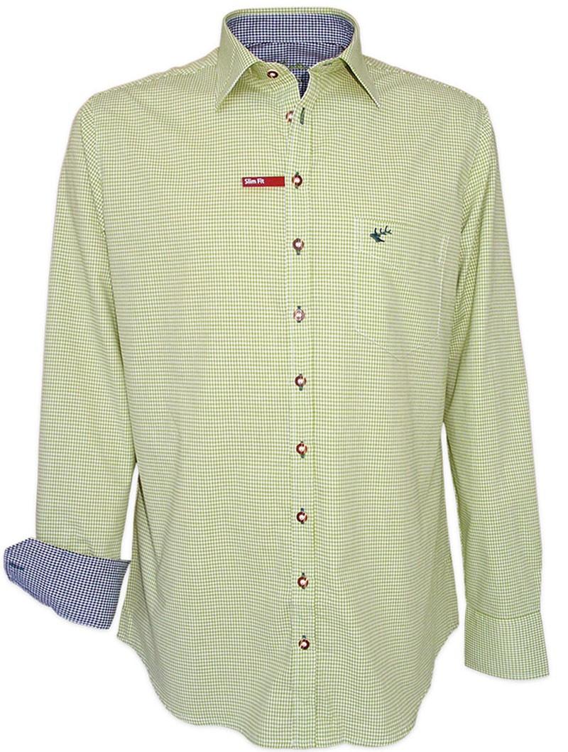 Trachtenhemd Chuck grün