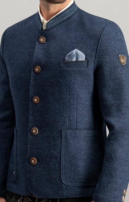 Tradycyjna kurtka Wolfgang ciemnoniebieska