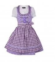 Preview: Kinderdirndl Chrissi lila