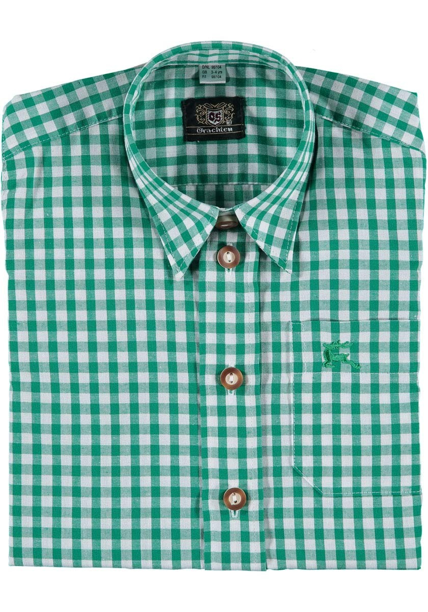 Kinder shirt Tonerl groen