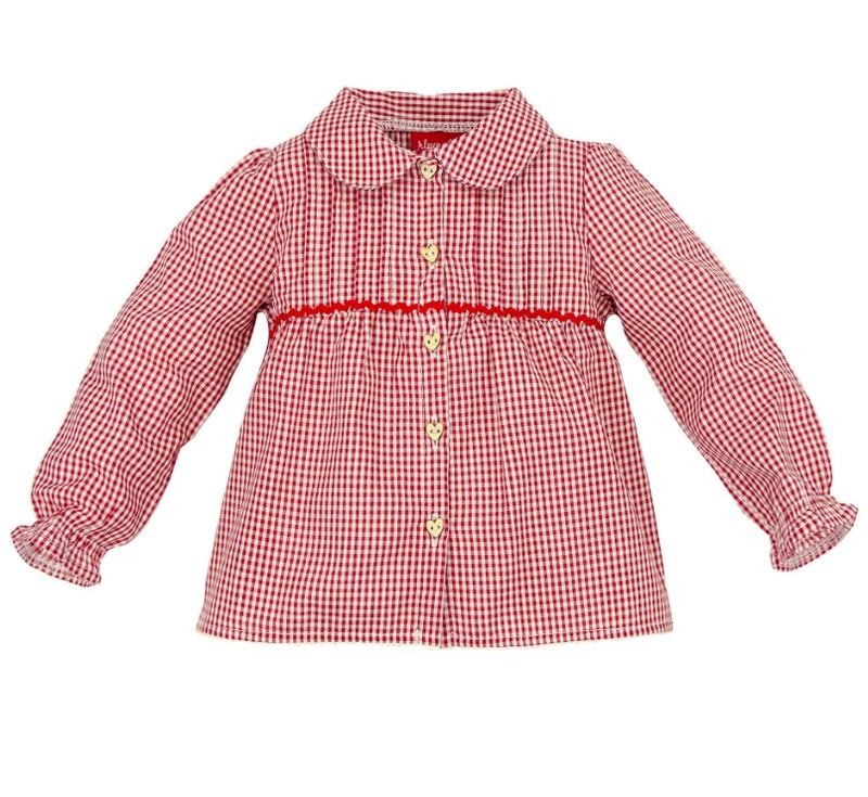 Geruit hemd (baby shirt)