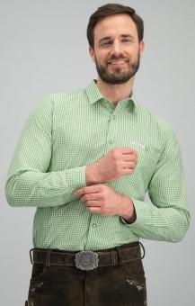 Trachtenhemd Dave in kiwi