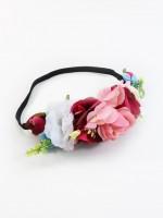 Vorschau: Haarband Blütenpracht