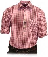 Vorschau: Trachtenhemd Samwell rot