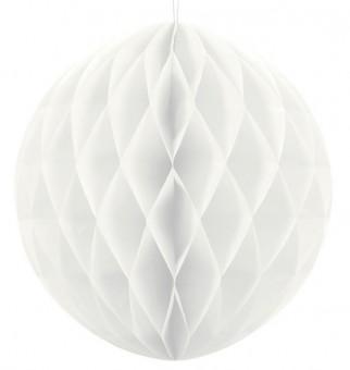 Wabenball in Weiß 40cm