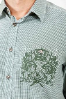 Trachtenhemd Lio grün