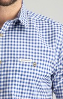 Vorschau: Trachtenhemd Campos in blau
