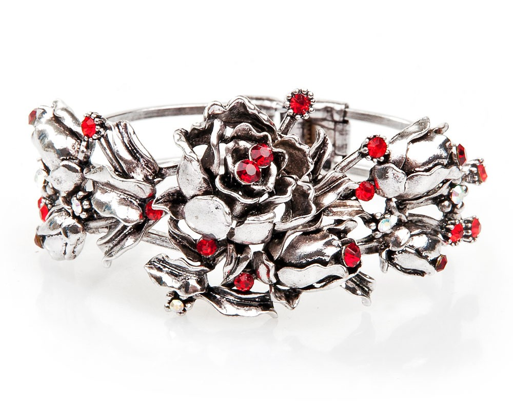 Armbanden rozen rood