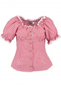 Ladies blouse Laura red