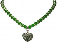 Vorschau: Perlenkette Mathilda grün