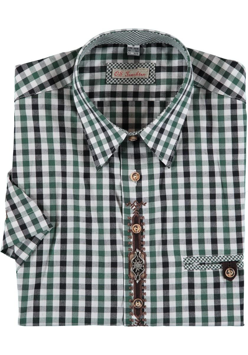 Herrenhemd Hartmann grün
