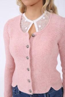 Trachten jacket Heidl pink