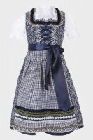 Preview: Kinderdirndl Mariella blau