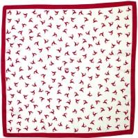 Trachten Tuch Hirschfestl rot