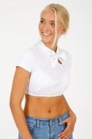 Vorschau: Dirndlbluse Celina Weiß