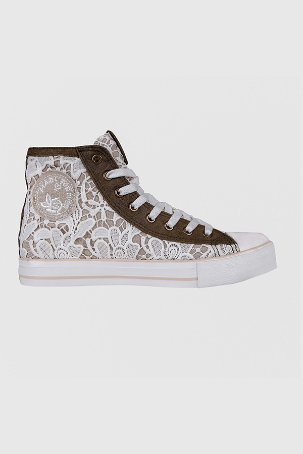 Sneaker Flower Garden