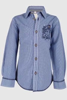 Children's costumes shirt Noah blue
