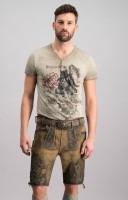 Vorschau: Lederhose Holzknecht muskat grün