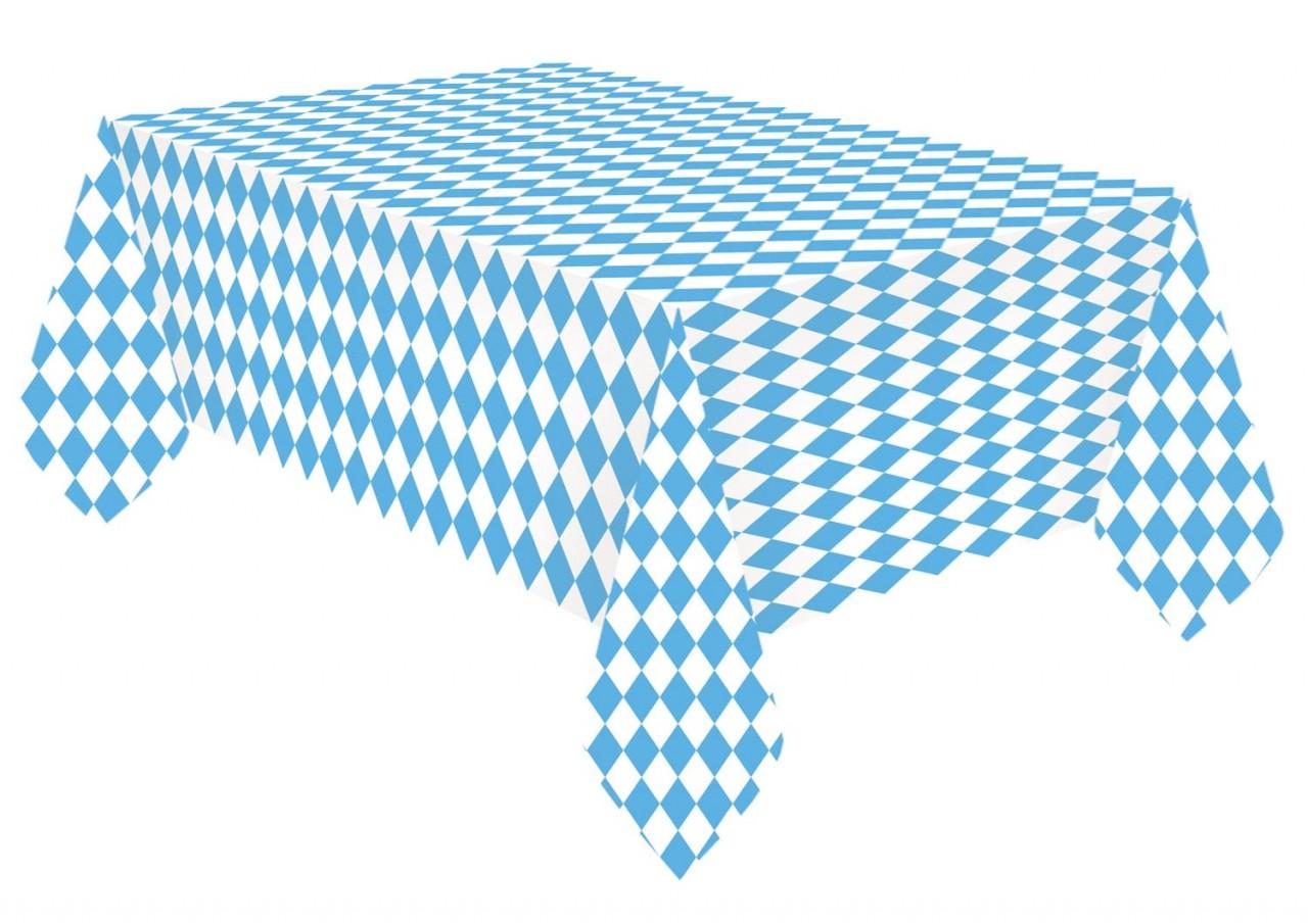 Papiertischdecke Blau Weiß 1,15 x 1,75m