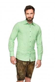Langarmhemd Dave grün