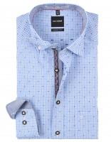 Vorschau: Trachtenhemd Olymp blau/weiß kariert