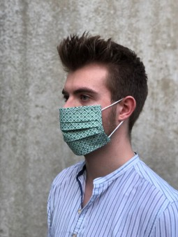 Mund-Nasen-Maske Tilli khaki