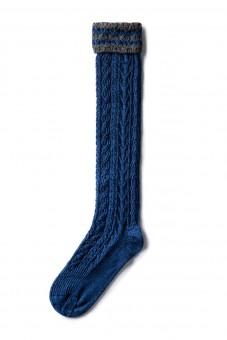 Strümpfe blau