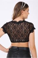 Preview: Dirndl blouse Carina black