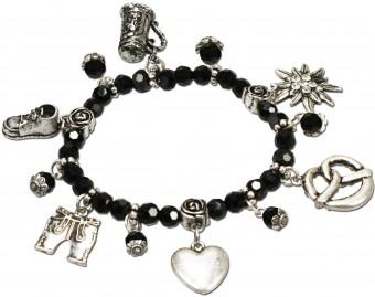 Pearl Bracelet Anna, Black